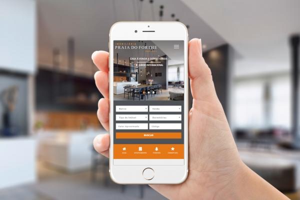 Criação de Website Imobiliário