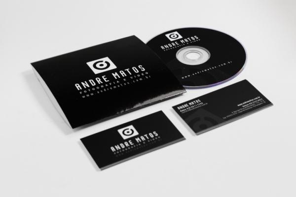 Logo + Cartão + CD