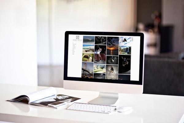 Criação de Website para Fotógrafo