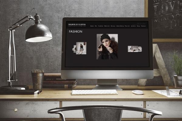 Criação de Site para Fotógrafo
