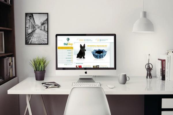 Criação de Site Pet