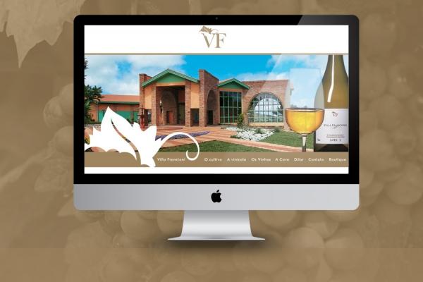 Desenvolvimento Website Villa Francioni