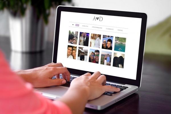 Criação de Landing Page de Casamento